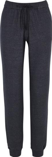 Cotton And Cashmere Blend Jogging Trousers