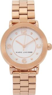 The Riley Rose Gold Tone Watch