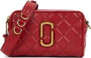 The Softshot 21 Red Leather Cross Body Bag