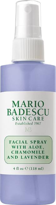 Facial Spray With Aloe, Chamomile And Lavender 118ml
