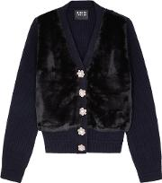 Paula Embellished Wool Cardigan