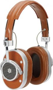 Mh40 Brown Aluminium Headphones