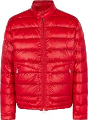 Acorus Red Quilted Shell Jacket