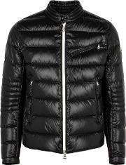 Berriat Black Quilted Shell Jacket