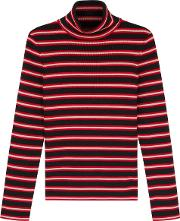 Grenoble Ciclista Striped Wool Blend Jumper