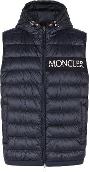 Laruns Navy Quilted Shell Gilet
