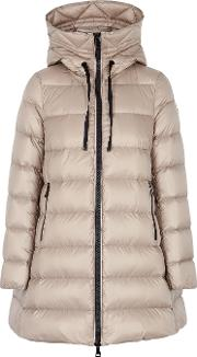 Suyen Stone Quilted Shell Coat