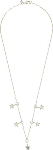 5 Star Sterling Silver Necklace