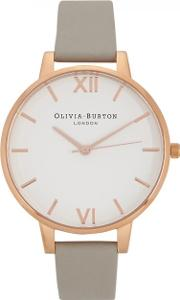 Big Dial Rose Gold Plated Watch