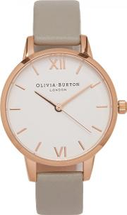 Midi Dial Rose Gold Plated Watch