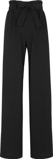 Paloma Black Wide Leg Trousers