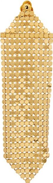 Gold Tone Chainmail Single Earring