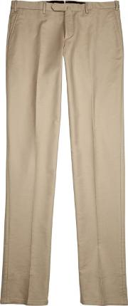 Sand Stretch Cotton Chinos