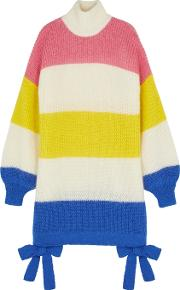 Candyfloss Striped Oversized Jumper