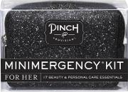 Minimergency Kit Black Glitter