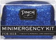 Minimergency Kit Blue Glitter