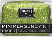 Minimergency Kit Green Glitter