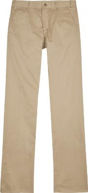 Sand Tapered Cotton Chinos Size W32