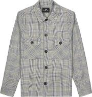 Checked Houndstooth Wool Jacket
