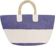 Two Tone Canvas Tote