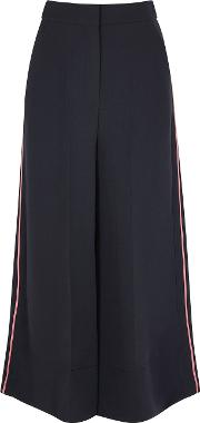 Hasani Cropped Wide Leg Trousers