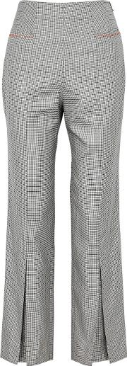Salthill Checked Wool Blend Trousers