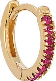 18kt Gold Plated Single Hoop
