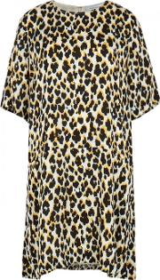 Adelaide Leopard Print Mini Dress