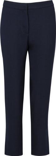 Hoyas Navy Cropped Trousers Size L