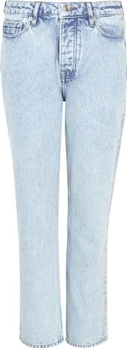 Je Marriane Cropped Straight Leg Jeans