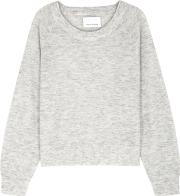 Lemba Light Grey Knitted Jumper