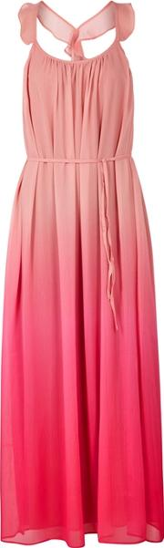Tonga Degrade Chiffon Maxi Dress