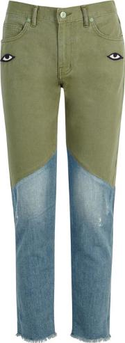 The Relaxed Two Tone Jeans