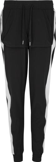 Free Reflective Panelled Jogging Trousers