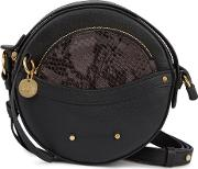 See By Chloe Rosy Black Leather Cross Body Bag