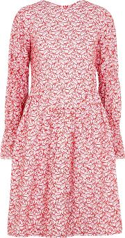 Peggy Broderie Anglaise Cotton Blend Dress