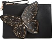 Flossy Stud  Leather Pouch