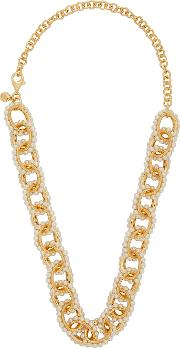 Mondello 24kt Gold Plated Chain Necklace