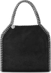 Falabella Mini Black Top Handle Bag