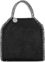 Falabella Tiny Black Top Handle Bag