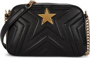 Stella Star Small Black Shoulder Bag