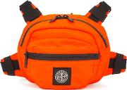 Fluorescent Orange Belt Bag