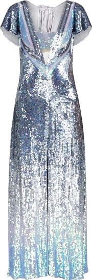 Ruth Iridescent Sequinned Gown