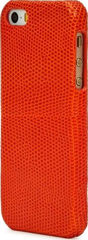 Lizard Effect Leather Iphone 55sse Case