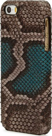 Python Effect Leather Iphone 55sse Case
