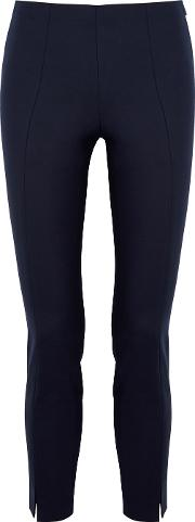 Sorocco Navy Stretch Cotton Trousers