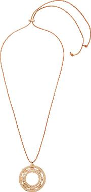 Serif T Gold Tone Necklace