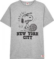 Nyc Grey Cotton T Shirt Size S