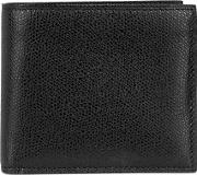 Divisione 6cc Black Leather Wallet