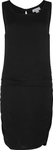 Abrega Black Jersey Dress Size S